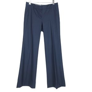 Theory Emery Broadway Wide-Leg Pants Navy Blue